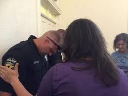 Praying with Police